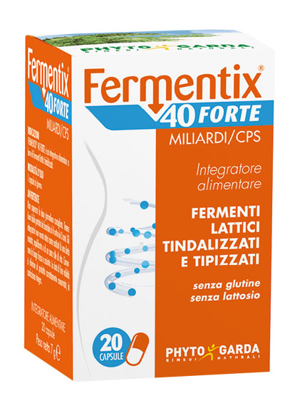 Phyto Garda Fermentix 40 Forte Integratore Alimentare 20 capsule - La tua farmacia online