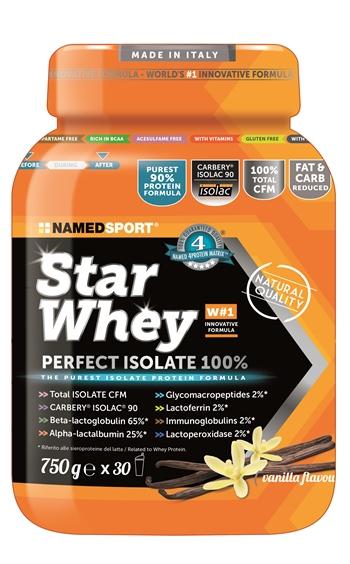 STAR WHEY ISOLATE VANILLA 750 G - FARMAPRIME