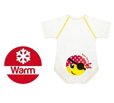 BODY 0 36 M CALDO COTONE WARM BABY SMILE PIRATINO - Farmawing