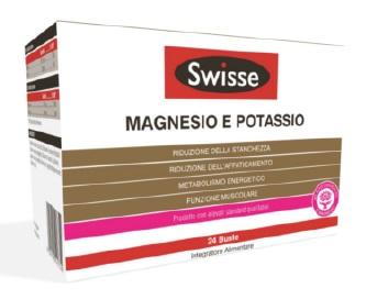 Swisse Magnesio e Potassio Integratore Alimentare 24 Buste Da 4 g - La tua farmacia online