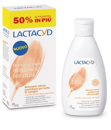 LACTACYD PROTEZIONE E DELICATEZZA DETERGENTE INTIMO 300 ML - Farmabravo.it