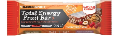 TOTAL ENERGY FRUIT BAR CRANBERRY & NUTS 35 G - Farmamille