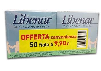 LIBENAR ISO 25 FIALE + 25 FIALE BIPACCO - Farmamille