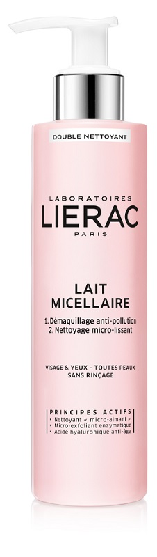 LIERAC DEMAQUILLANT LATTE MICELLARE A DOPPIA AZIONE 200 ML - Farmastar.it