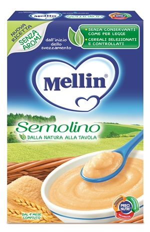 MELLIN SEMOLINO 200 G CT 7 - Farmaciasconti.it