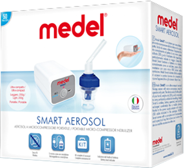 AEROSOL MEDEL SMART A BATTERIA - Farmastar.it