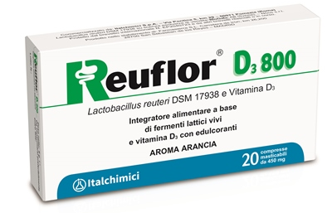 REUFLOR D3 800 20 COMPRESSE - FARMAEMPORIO