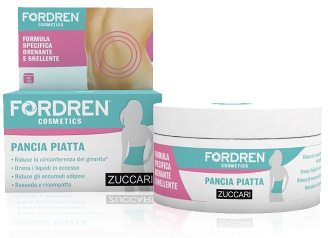 Fordren Cosmetics Pancia Piatta Drenante Snellente Crema 180ml - La tua farmacia online