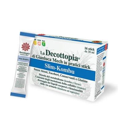 Tisanoreica Decottopia Slim-Kombu Diuretico Snellente Drenante 16 Stick da 30 ml - La tua farmacia online