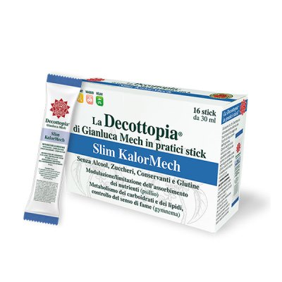 Tisanoreica Decottopia Slim KalorMech Assorbimento Nutrienti 16 Stick da 30 ml - La tua farmacia online