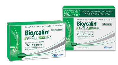 BIOSCALIN PHYSIOGENINA 30 COMPRESSE - Farmacento