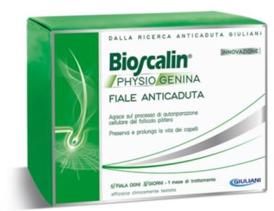 BIOSCALIN PHYSIOGENINA 10 FIALE ANTICADUTA DA 3,5 ML - Farmastar.it