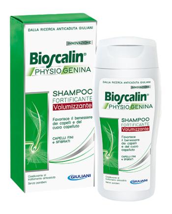 BIOSCALIN PHYSIOGENINA SHAMPOO FORTIFICANTE VOLUMIZZANTE 200 ML - Farmabravo.it