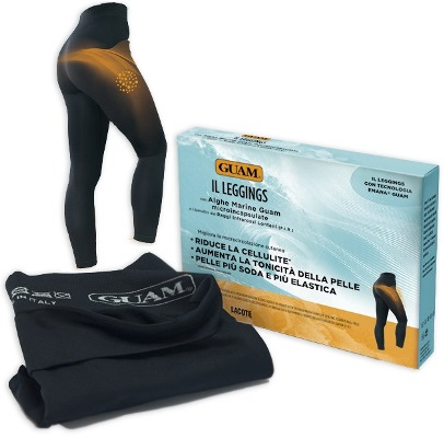 Guam Leggings Anticellulite Con Alghe Microincapsulate Taglia L-XL 46-50 Nero - La tua farmacia online