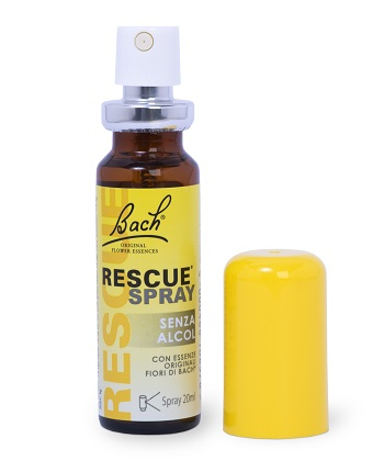 RESCUE SPRAY SENZA ALCOL 20 ML - Farmacento