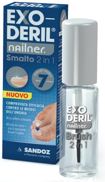 EXODERIL NAILNER TRATTA & COLORA KIT EXODERIL NAILNER SMALTO 2 IN 1 E NAILNER SMALTO PER UNGHIE TRASPIRANTE - Farmacento
