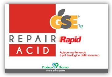 GSE REPAIR RAPID ACID 36 COMPRESSE - Parafarmaciabenessere.it