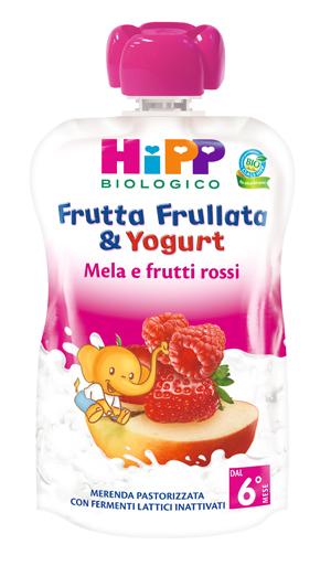 HIPP FRUTTA FRULLATA YOGURT MELA FROSSI 90 G - Farmamille
