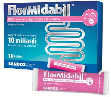 FLORMIDABIL KIDS BUSTINE 20 G scad 01/2020 - Farmacento