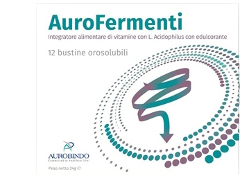 AUROFERMENTI 12 BUSTINE 24 G - Farmacento