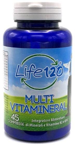 LIFE 120 MULTIVITAMINERAL 45 COMPRESSE - Zfarmacia
