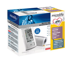 MISURATORE DI PRESSIONE ELETTRONICO MICROLIFE AFIB ADVANCED EASY - Farmamille