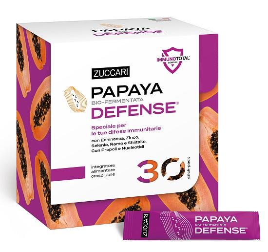 Zuccari Papaya Defense 30 Bustine - La tua farmacia online