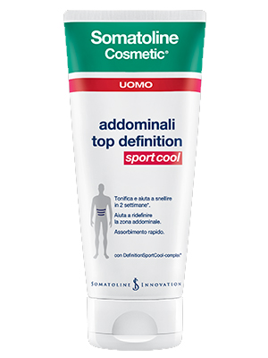 Somatoline Cosmetic Uomo Top Definition Sport Cool 200 ml - La tua farmacia online