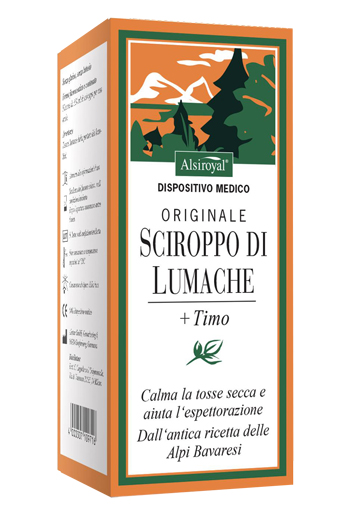 SCIROPPO LUMACHE ORIGINALE 150 ML - Farmamille