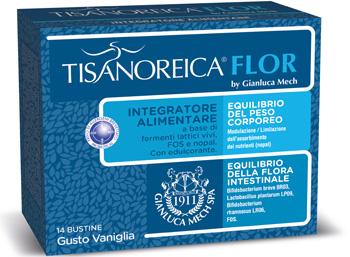 Tisanoreica Flor 14 bustine gusto Vaniglia - La tua farmacia online