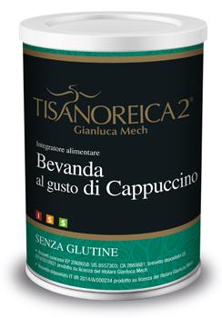 TISANOREICA 2 BEVANDA AL CAPPUCCINO  BARATTOLO DA 350 GR. - Farmastar.it