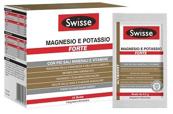SWISSE MAGNESIO POTASSIO FORTE 24 BUSTE - FARMAPRIME