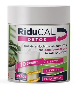 RIDUCAL DETOX 255 G - Farmacento