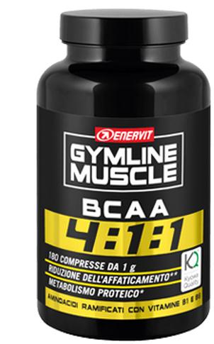 GYMLINE MUSCLE BCAA 4:1:1 KYOWA QUALITY COMPRESSE 180 COMPRESSE 180 G - FARMAEMPORIO