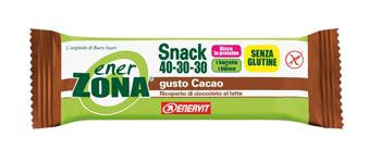 ENERZONA SNACK CIOCCOLATO 1 BARRETTA NUOVA FORMULA - FARMAEMPORIO