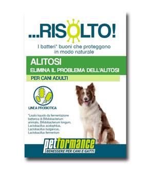 PETFORMANCE ALITOSI RISOLTO CANE 50 ML - Farmastar.it