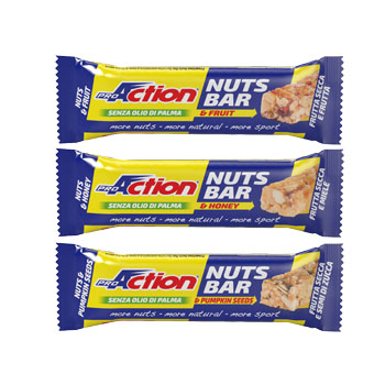 NUTS BAR SEMI ZUCCA 30 G - La tua farmacia online