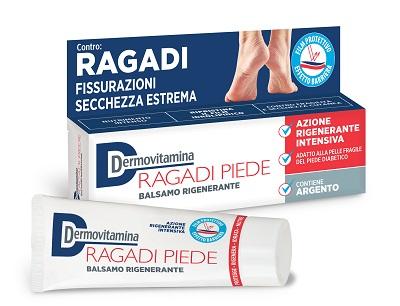 DERMOVITAMINA RAGADI CREMA PIEDI - Farmacento