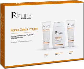 PIGMENT SOLUTION PROGRAM KIT CREMA 30 ML + CREMA 30 ML + DETERGENTE 100 ML - FARMAEMPORIO