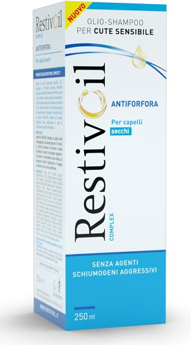 RESTIVOIL COMPLEX ANTIFORFORA CAPELLI SECCHI 250 ML - Farmacento