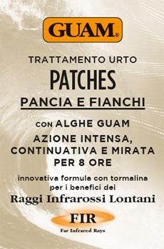 GUAM PATCHES TRATTAMENTO URTO PANCIA E FIANCHI 8 PEZZI - Farmastar.it