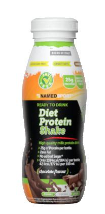 NAMED DIET PROTEIN SHAKE CHOCOLATE 330 ML - FARMAPRIME