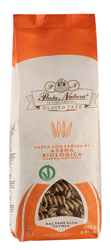 FUSILLI AVENA BIO 250 G - Farmastar.it