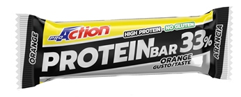 PROACTION PROTEIN BAR 33% ARANCIA 50 G - La tua farmacia online