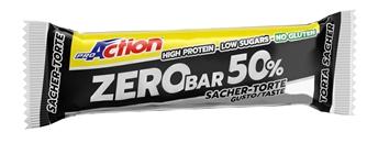 PROACTION ZERO BAR 50% TORTA SACHER 60 G - La tua farmacia online