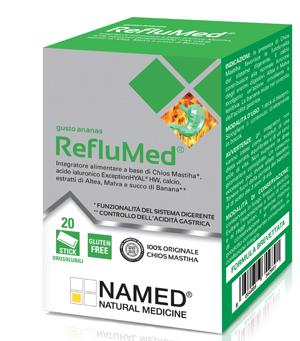 NAMED REFLUMED ANANAS 20 STICKS 40 G NEW - Farmastar.it