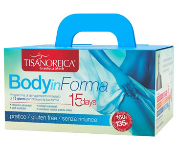 Tisanoreica KIT BODY IN FORMA 15 Giorni - La tua farmacia online