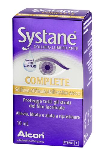 SYSTANE COMPLETE COLLIRIO LUBRIFICANTE 10 ML - Farmacento