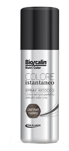 BIOSCALIN NUTRICOLOR COLORE ISTANTANEO CASTANO CHIARO 75 ML - Farmabravo.it
