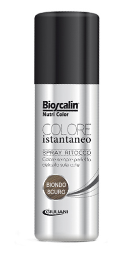 BIOSCALIN NUTRICOLOR COLORE ISTANTANEO BIONDO SCURO 75 ML - Zfarmacia